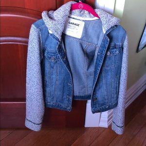 Garage short jean jacket